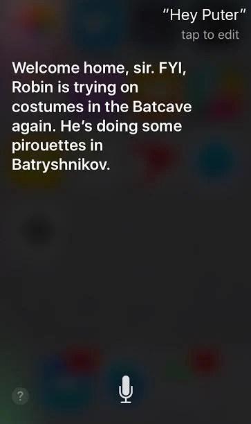 (Screen shot of sassy Siri at work, via iPhone)