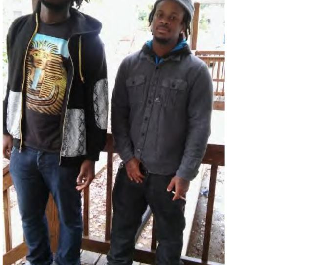 Abdul Bangura Left And Christian Hood Right Seen In A Facebook Photo Are Accused Of Prostituting A 15 Year Old Girl In The D C Area