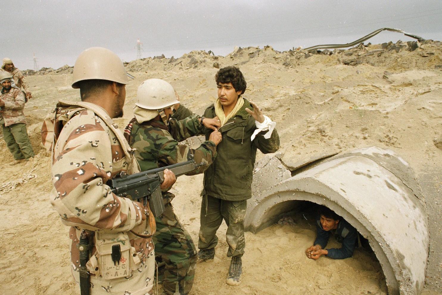 Persian Gulf War Veterans Fume As A 25th Anniversary Goes