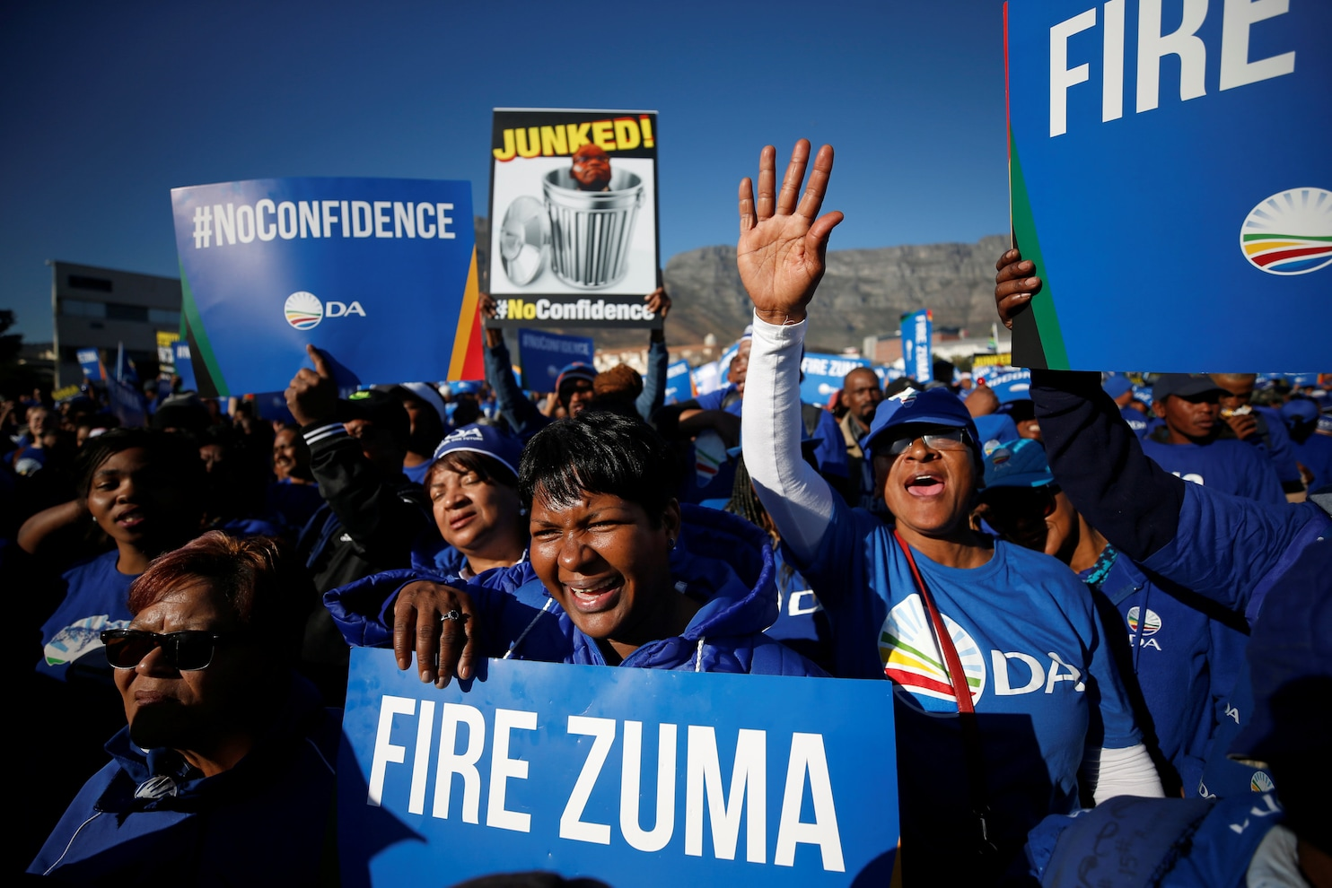 South African President Jacob Zuma survives no-confidence ...