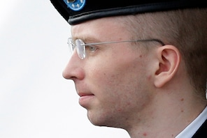 A military judge sentenced Army Pfc. Bradley Manning to 35 years in prison for giving a trove of military and diplomatic secrets to WikiLeaks.