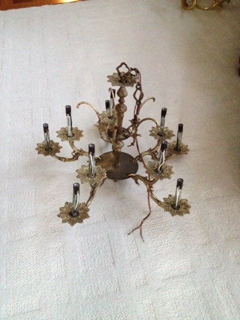 Grounding A Chandelier Reader Photo