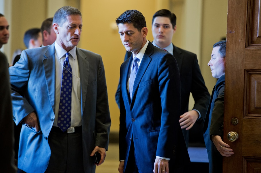 David Hoppe 'leaning into the storm' as Speaker Ryan's top aide