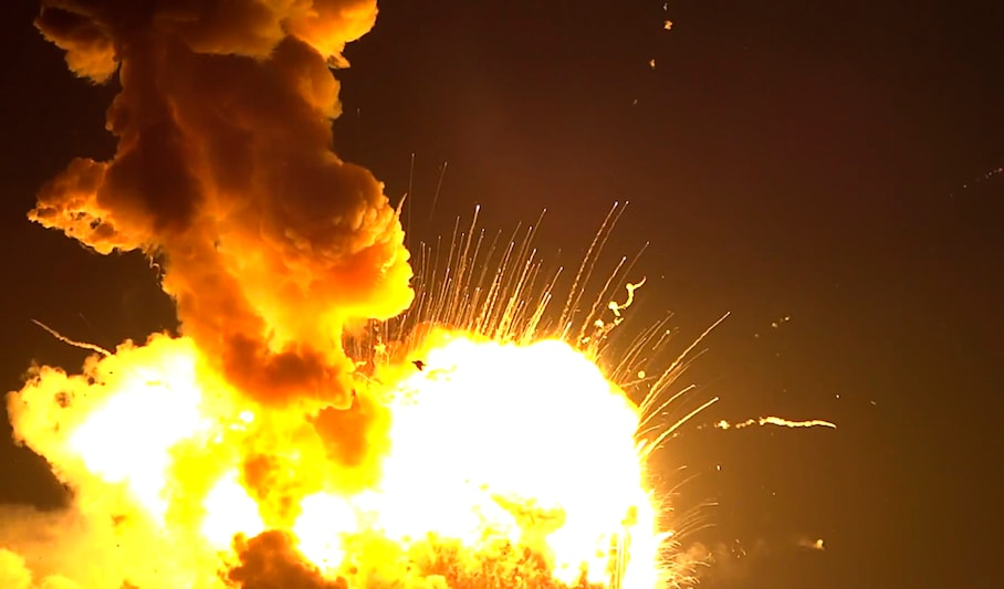 Antares Rocket Explosion The Question Of Using Decades