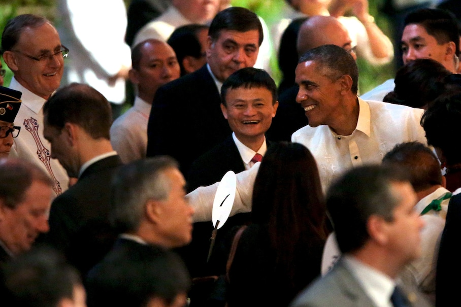 Obama interviews Alibaba founder; E.U. official warns on more surveillance; White House offers IT training grants