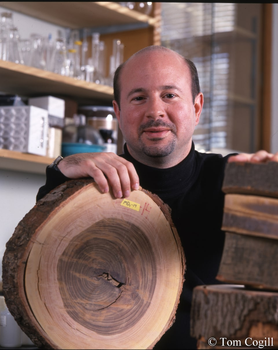 Scientist and author Michael E. Mann. Photo by Tom Cogill