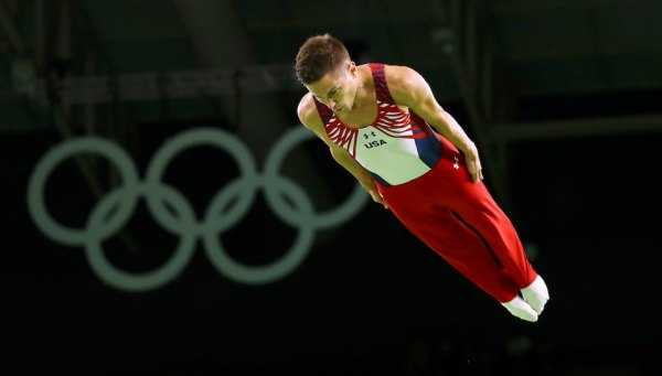 American gets best finish ever in men's Olympic trampoline ...