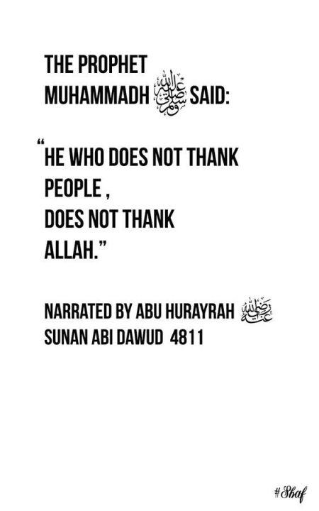 Islamic stories/morals / quotes / ahadith / surahs/ dua's. Islamic Quotes And Hadiths Thanking Wattpad