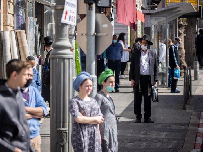 Sirène du Jour de l'Holocauste, Jérusalem, 8 avril 2021. Jonathan Zindel, Flash 90