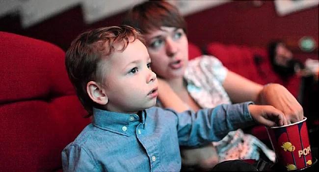 autistic child at movies