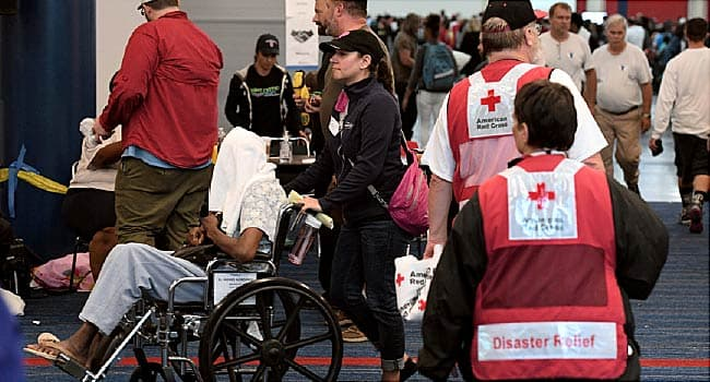 harvey evacuees