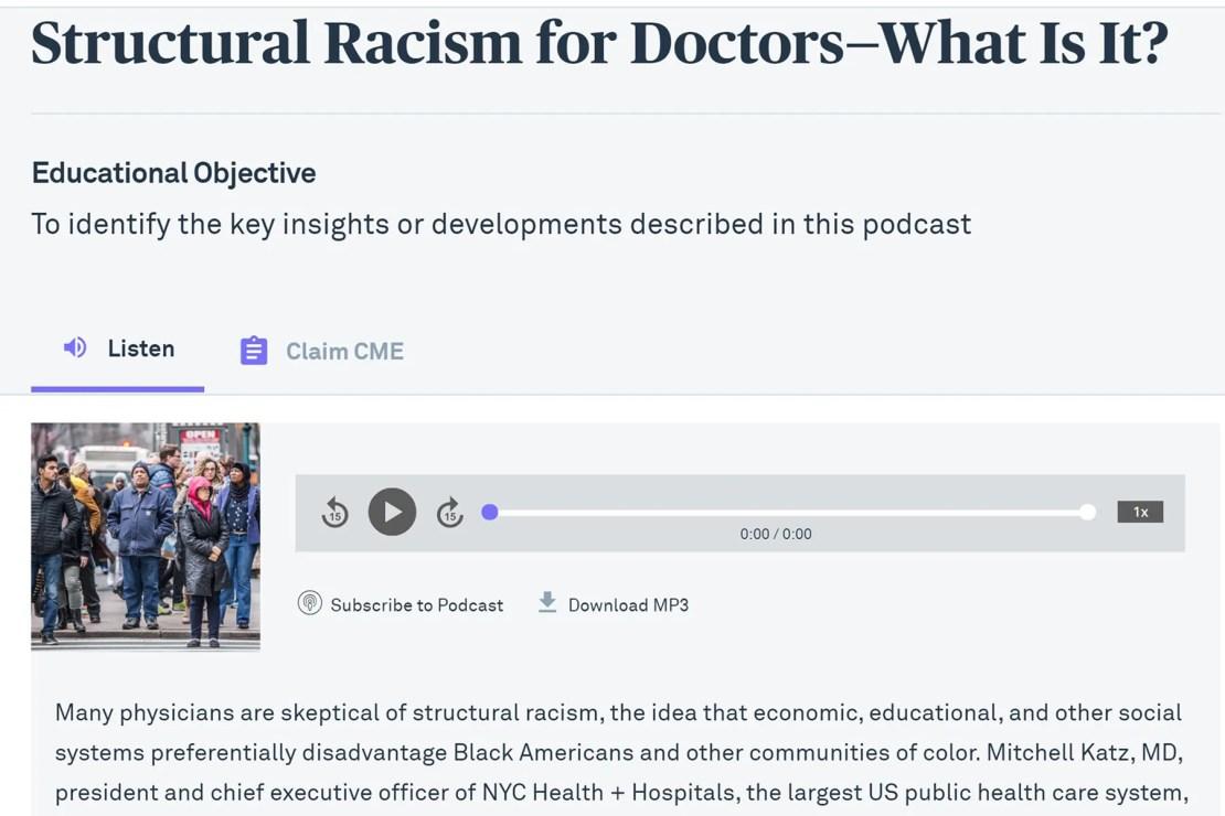photo of jama podcast