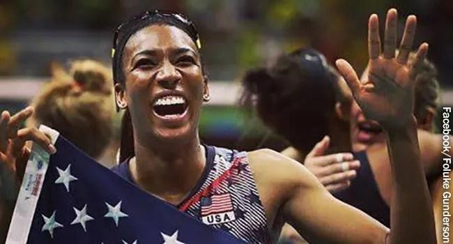 إنها ليست مجرد أولمبية. إنها أم