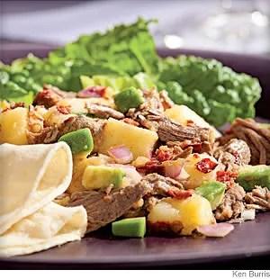 Beef & Potato Salad With Smoky Chipotle