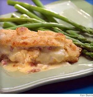 ham and cheese stuffed chicken