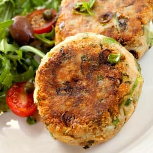 Salmon Pecan Patties Recipe: Seafood Entree Recipes on WebMD