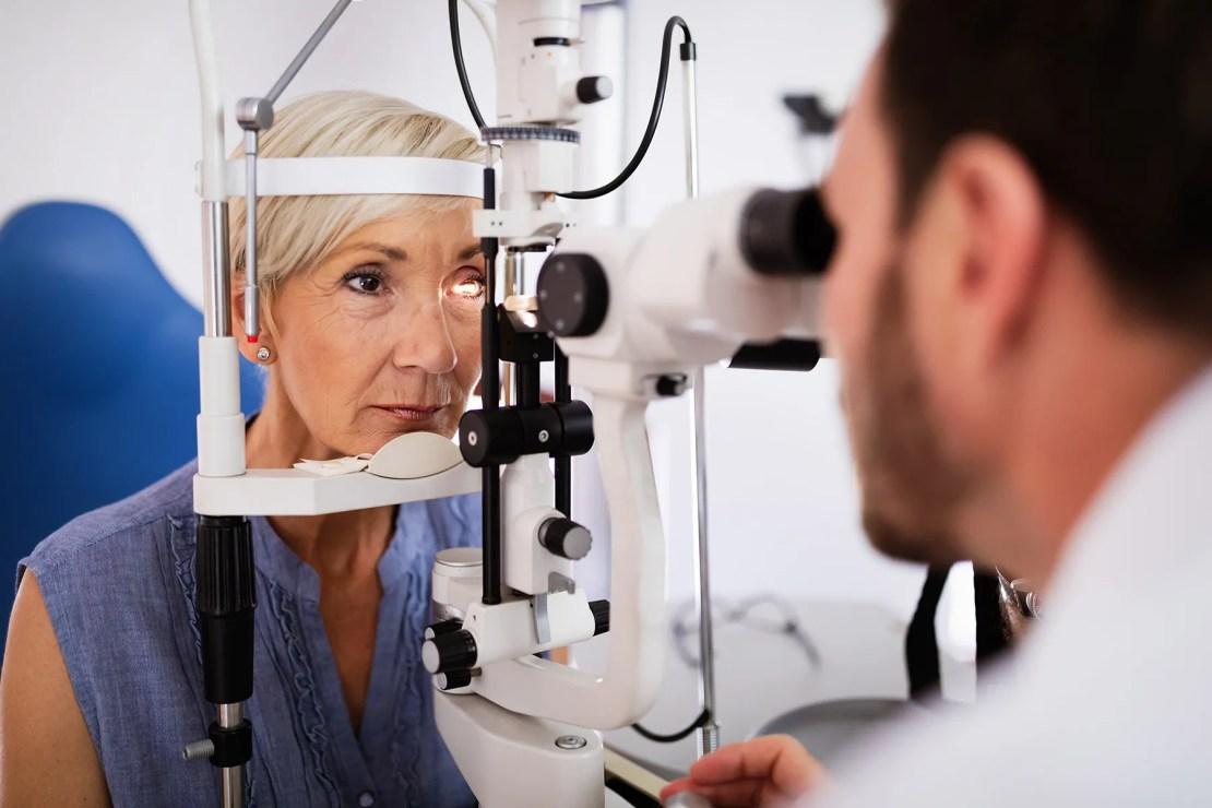 photo of eye test