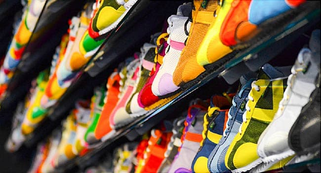 Types of Athletic Shoes: Pictures of Different Types