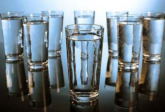 Image result for multiple water glass