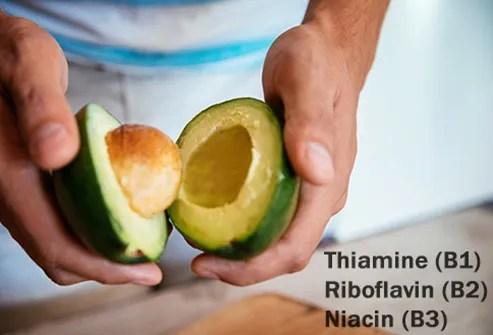 avocado b vitamins