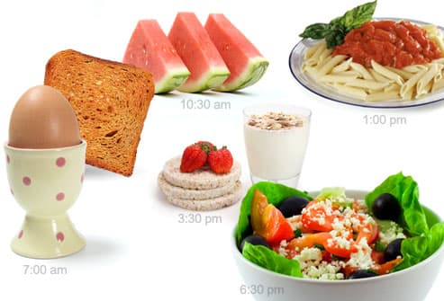 Eating A Few Small Meals Helps You Diet