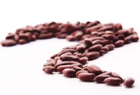 Row of Dried Beans