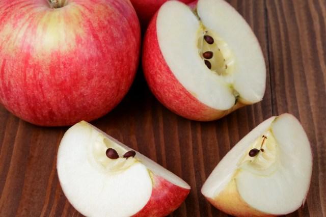 photo of apple seeds