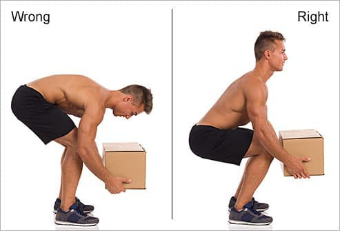 correct posture for lifting