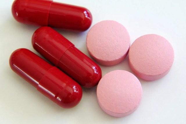 iron supplement pills