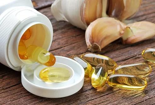 garlic oil capsules