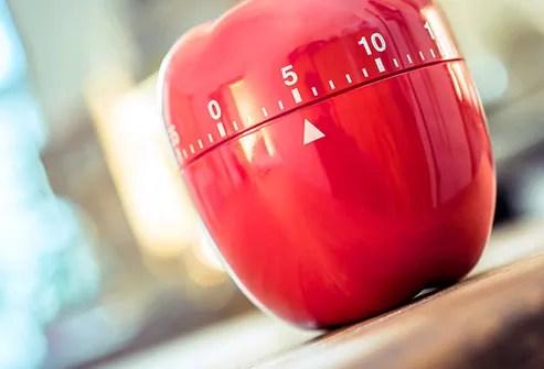red egg timer