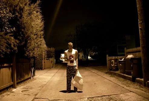 Man Sleepwalking