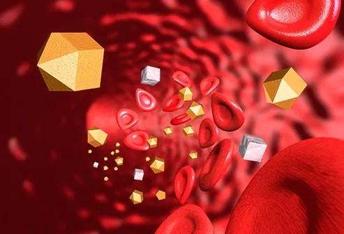 bloodstream glucose triglycerides