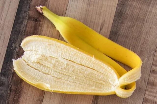 photo of banana peel