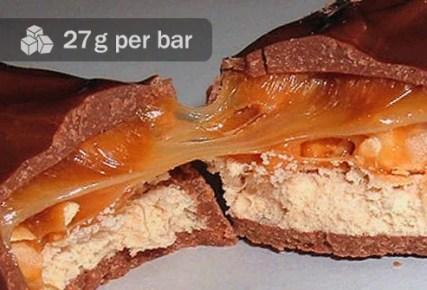 snickers candy bar broken