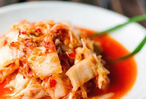bowl of kimchi