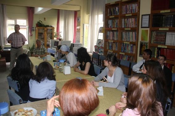 Arif Molu Kütüphanesi, Yakup Yüksel