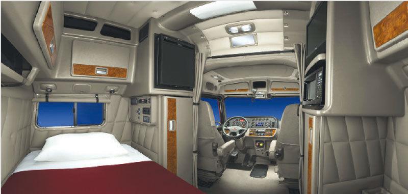 Kenworth W900 Studio Sleeper Interior