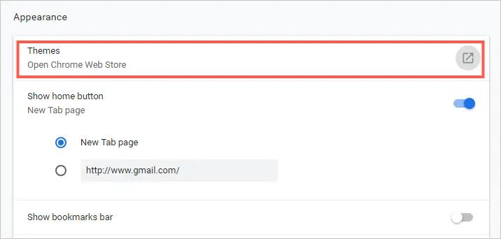 Темы Chrome