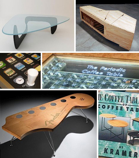 planet amusing: 15 creative coffee tables & coffee table designs