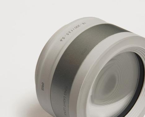 lense camera hand held
