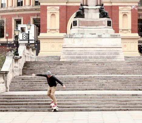 Stair Rover Skateboard 5