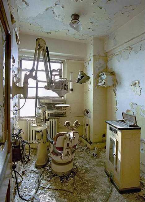 abandoned dentist office Detroit