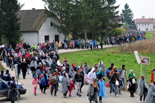 Slowenien fühlt sich überfordert und schließt den Bau eines Grenzzauns nicht mehr aus