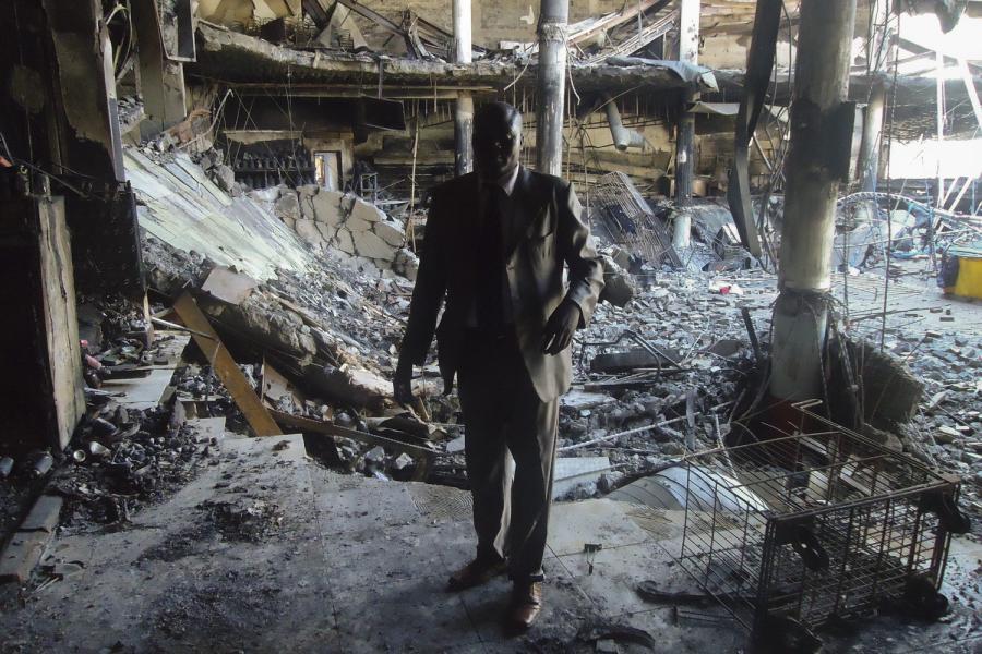 Nairobi Westgate shopping mall shooting aftermath