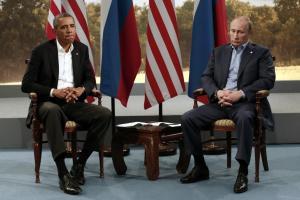 Die Stimmung zwischen US-Präsident Barack Obama und Russlands Präsidenten Wladimir Putin dürfte mittlerweile noch schlechter sein als bei diesem G8-Treffen in 2013
