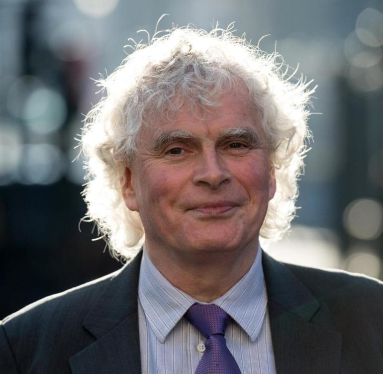 Sir Simon Rattle was not chief of the London Symphony Orchestra building in St. Luke's for a long time