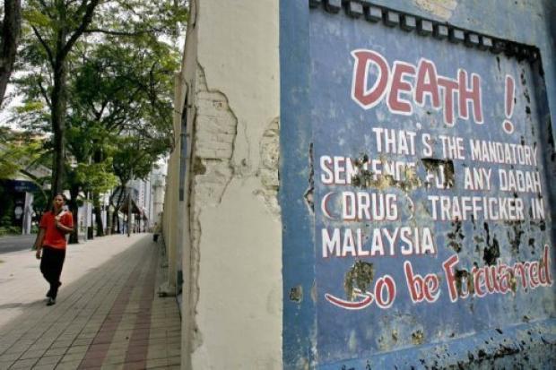 Warnung vor der Todesstrafe bei Drogendelikten