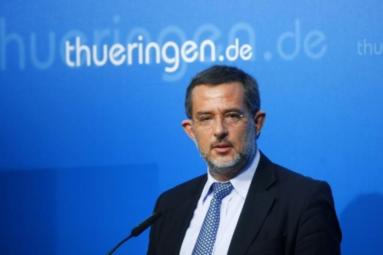 Thüringens Verfassungsschutzchef Stephan Kramer