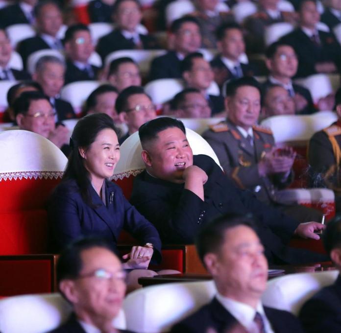 Kim Jong Un's wife back in public